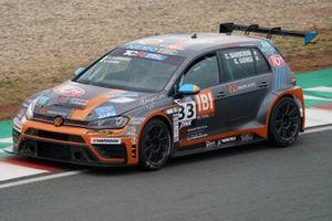 #33 NOS Racing, Vokswagen Golf GTI TCR DSG: Cosimo Barberini, Gabriele Giorgi