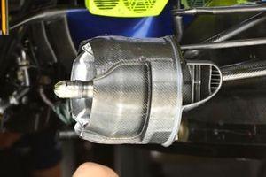 Williams FW43B brake drum detail