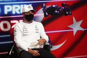 Valtteri Bottas, Mercedes at the press conference