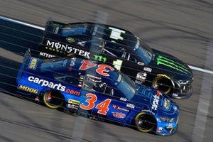 Michael McDowell, Front Row Motorsports, Ford Mustang CarParts.com, Kurt Busch, Chip Ganassi Racing, Chevrolet Camaro Monster Energy