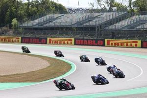 Lucas Mahias, Kawasaki Puccetti Racing, Garrett Gerloff, GRT Yamaha WorldSBK Team, Tom Sykes, BMW Motorrad WorldSBK Team
