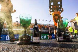 Trophäen beim GP Niederlande 2021 in Zandvoort