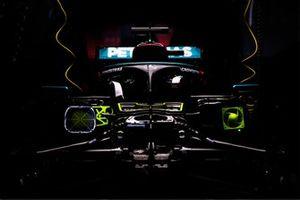 De auto van Lewis Hamilton, Mercedes W12