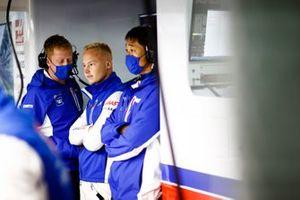 Nikita Mazepin, Haas F1, in de garage