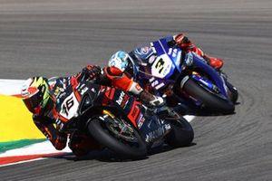 Samuele Cavalieri, TPR Team Pedercini Racing, Kohta Nozane, GRT Yamaha WorldSBK Team