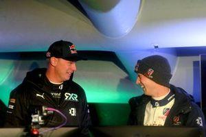 Johan Kristoffersson, Rosberg X Racing et Timmy Hansen, Andretti United Extreme E