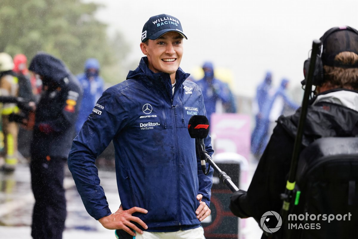 George Russell, Williams, 2a posizione