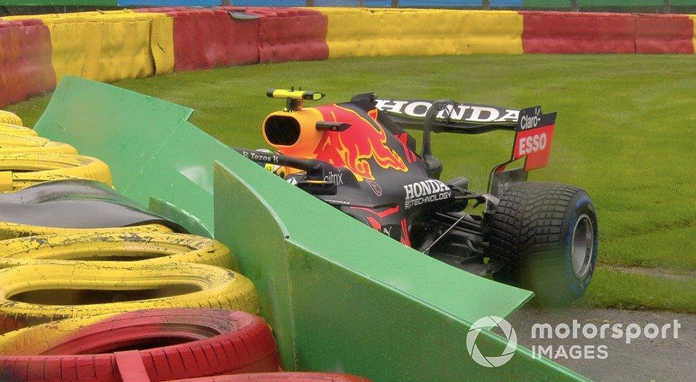 L'incidente di Sergio Perez, Red Bull Racing