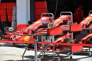 Tech Detail Piola Tech, Ferrari SF21 front nose section