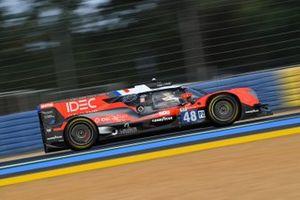 #48 IDEC Sport Oreca 07 - Gibson LMP2, Paul Lafargue, Paul-Loup Chatin, Patrick Pilet