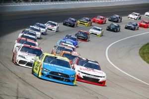 Austin Cindric, Team Penske, Ford Mustang Menards/NIBCO, Myatt Snider, Richard Childress Racing, Chevrolet Camaro Superior Essex