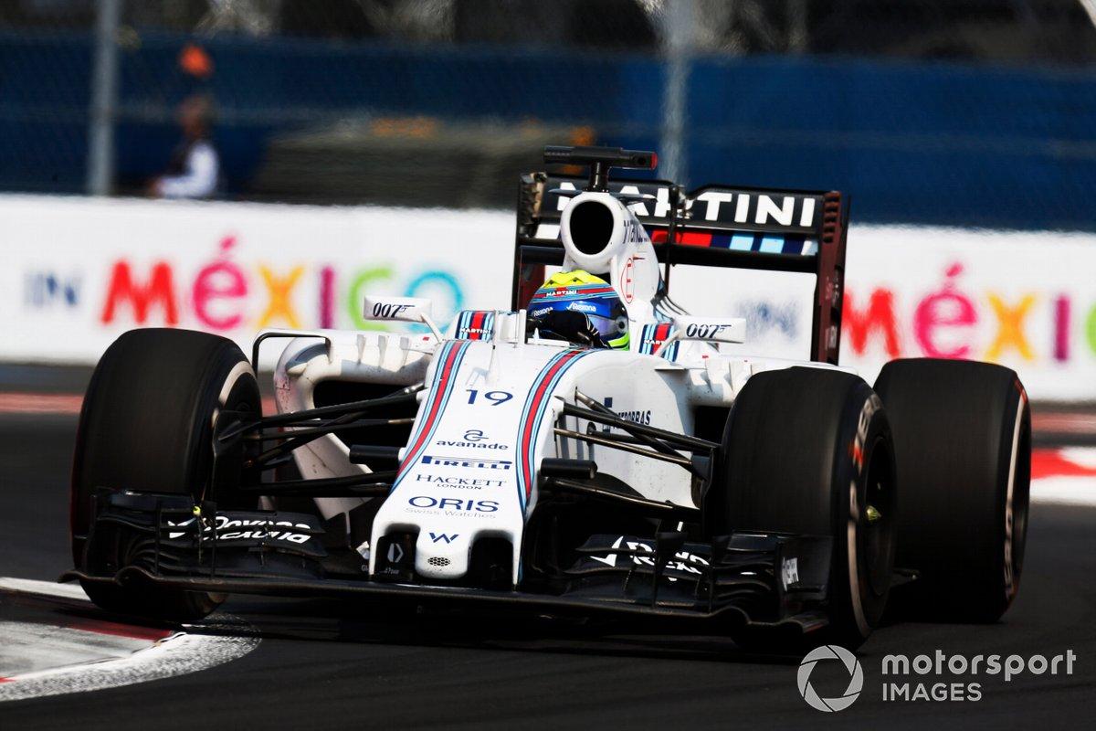Williams et James Bond, GP du Mexique 2015