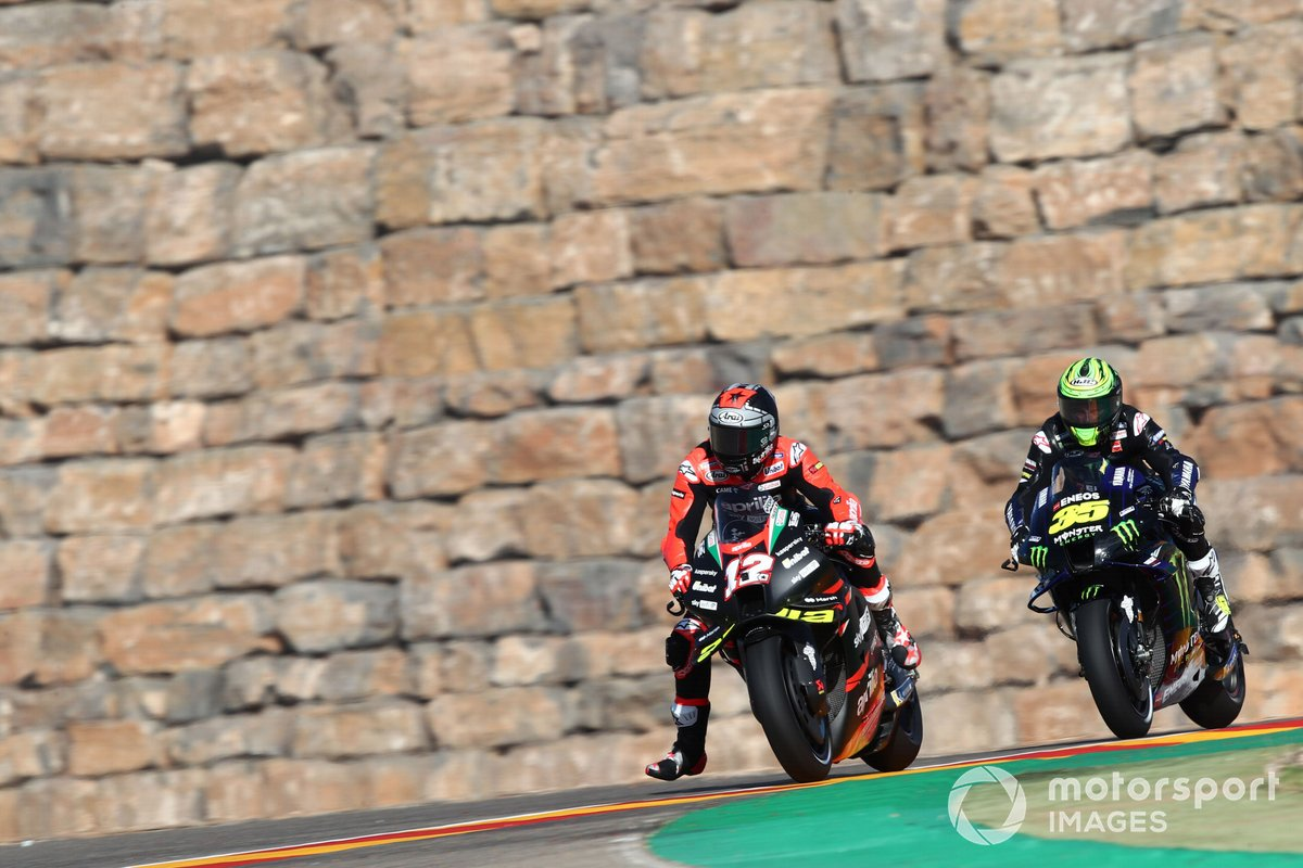 Maverick Vinales, Aprilia Racing Team Gresini, Cal Crutchlow, Yamaha Factory Racing