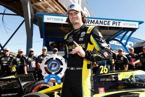 Colton Herta, Andretti Autosport w/ Curb-Agajanian Honda, P1 Pole Award, NTT P1 Pole Award