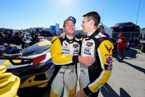 GTLM Podium: #4 Corvette Racing Corvette C8.R, GTLM: Tommy Milner, Nick Tandy