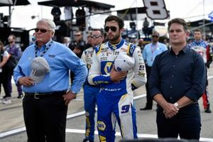 Chase Elliott, Hendrick Motorsports, Chevrolet Camaro NAPA Auto Parts and Jeff Gordon