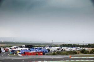 Superbike-Fahrerlager am Autodrom Most