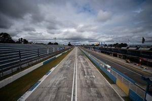 Reta do autódromo de Curitiba