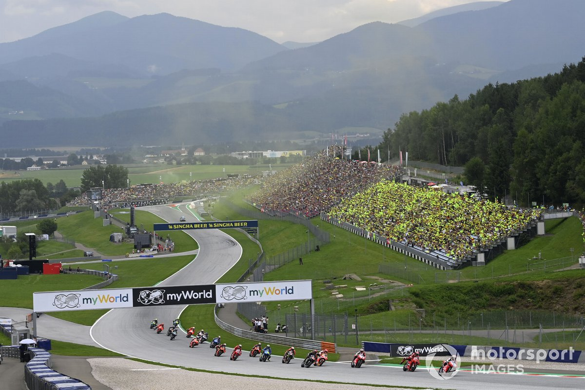 Jorge Martin, partenza gara Pramac Racing