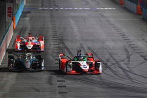 Lucas Di Grassi, Audi Sport ABT Schaeffler, Audi e-tron FE07, Nyck de Vries, Mercedes-Benz EQ, EQ Silver Arrow 02, Alex Lynn, Mahindra Racing, M7Electro