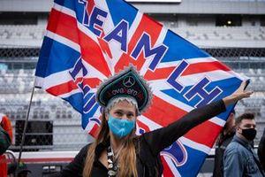 Fans van Lewis Hamilton, Mercedes