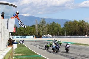 Bahattin Sofuoglu, Biblion Yamaha Motoxracing et Samuel Di Sora, Leader Team Flembbo