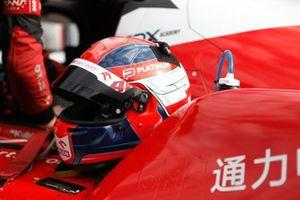 #41 Team Wrt Oreca 07 - Gibson LMP2, Robert Kubica, helmet