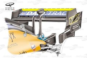 McLaren MCL35M rear wing, Italian GP