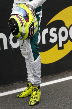 Helmet of James Winslow, Racing Team India Eurasia