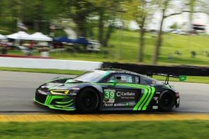 #39 CarBahn with Peregrine Racing Audi R8 LMS GT3, GTD: Richard Heistand, Jeff Westphal