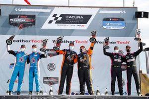 Podio: #38 Performance Tech Motorsports Ligier JS P320, LMP3: Rasmus Lindh, Dan Goldburg, #74 Riley Motorsports Ligier JS P320, LMP3: Gar Robinson, Felipe Fraga, #91 Riley Motorsports Ligier JS P320, LMP3: Jim Cox, Dylan Murry