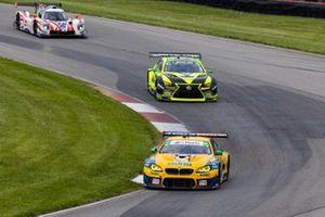 #96 Turner Motorsport BMW M6 GT3, GTD: Robby Foley, Bill Auberlen, #12 VasserSullivan Lexus RC F GT3, GTD: Frankie Montecalvo, Zach Veach