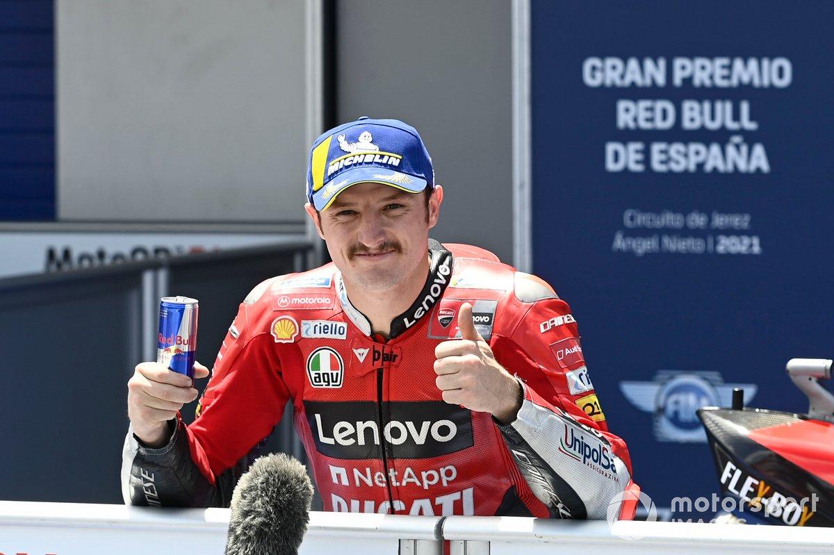 Tercero Jack Miller, Ducati Team