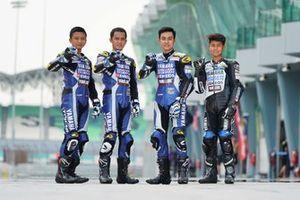 Wahyu Nugroho, Anggi Setiawan, M Faerozi dan Aldi Satya Mahendra, Yamaha Racing Indonesia