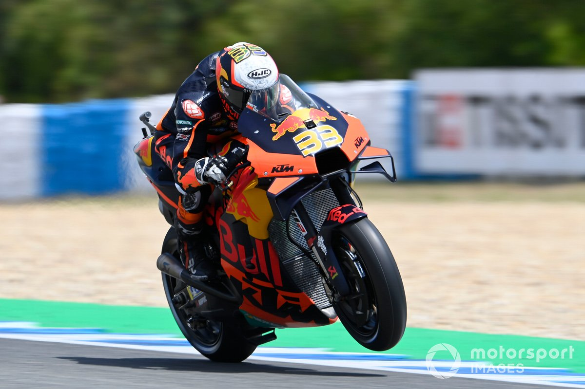 P11 Brad Binder, Red Bull KTM Factory Racing