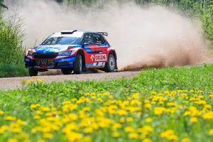 Mikołaj Marczyk, Szymon Gospodarczyk, Skoda Fabia Rally2 evo