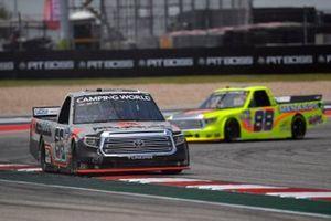 Paul Menard, ThorSport Racing, Toyota Tundra Mattei Air Compressors, Matt Crafton, ThorSport Racing, Toyota Tundra Oklahoma Joe's/Menards