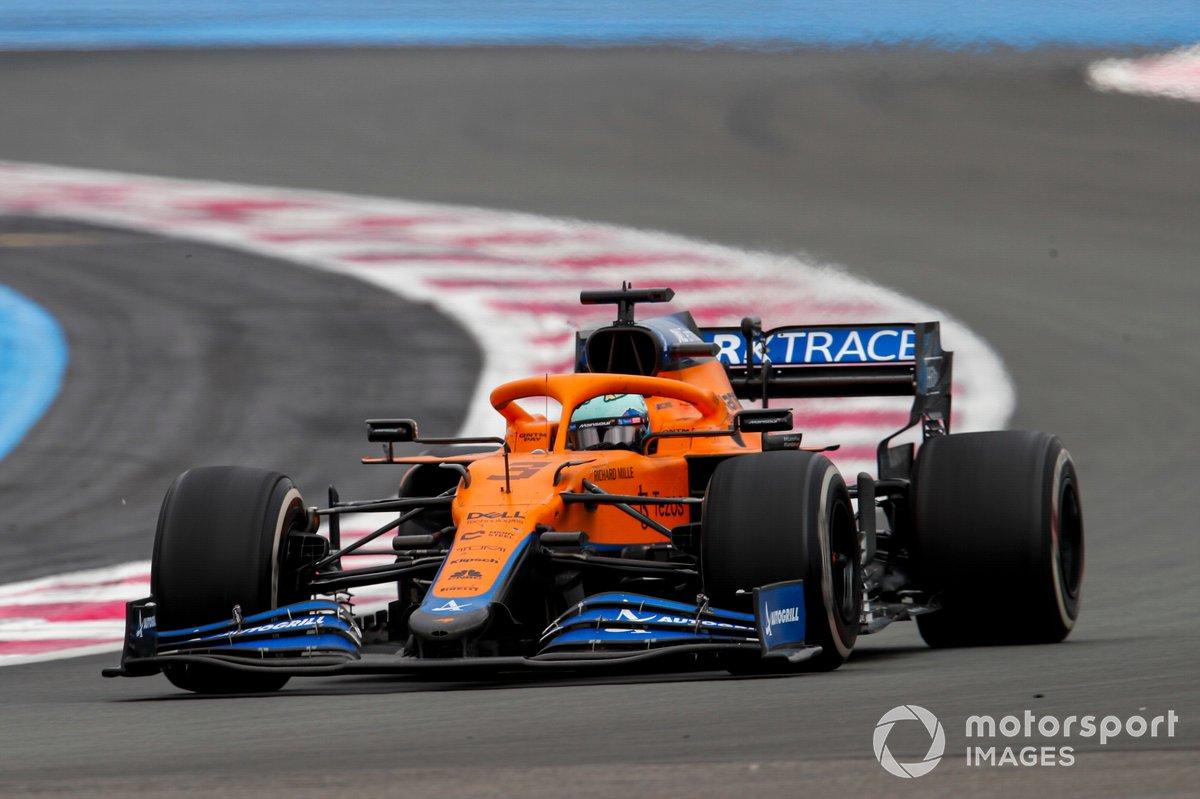 Daniel Ricciardo, McLaren: 8 puan
