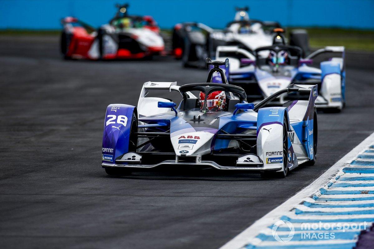 Maximilian Gunther, BMW i Andretti Motorsport, BMW iFE.21, Jake Dennis, BMW i Andretti Motorsport, BMW iFE.21