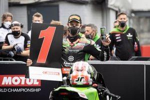 Jonathan Rea, Kawasaki Racing Team WorldSBK prende la pole position