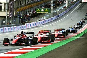Jack Doohan, Trident, Olli Caldwell, Prema Racing et Dennis Hauger, Prema Racing