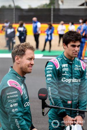 Sebastian Vettel, Aston Martin en Lance Stroll, Aston Martin