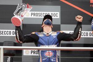 Podio: segundo lugar Garrett Gerloff, GRT Yamaha WorldSBK Team