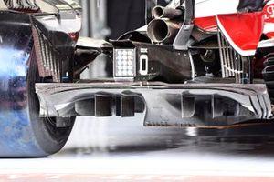 Alfa Romeo Racing C41 rear detail