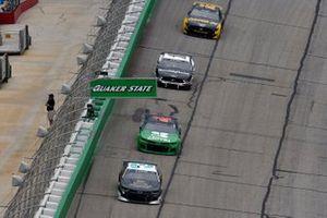 Austin Dillon, Richard Childress Racing, Chevrolet BREZTRI and Ross Chastain, Chip Ganassi Racing, Chevrolet Camaro Clover