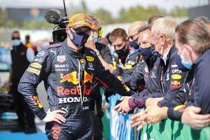 2. Max Verstappen, Red Bull Racing, Helmut Marko, Danışman, Red Bull Racing, Parc Ferme