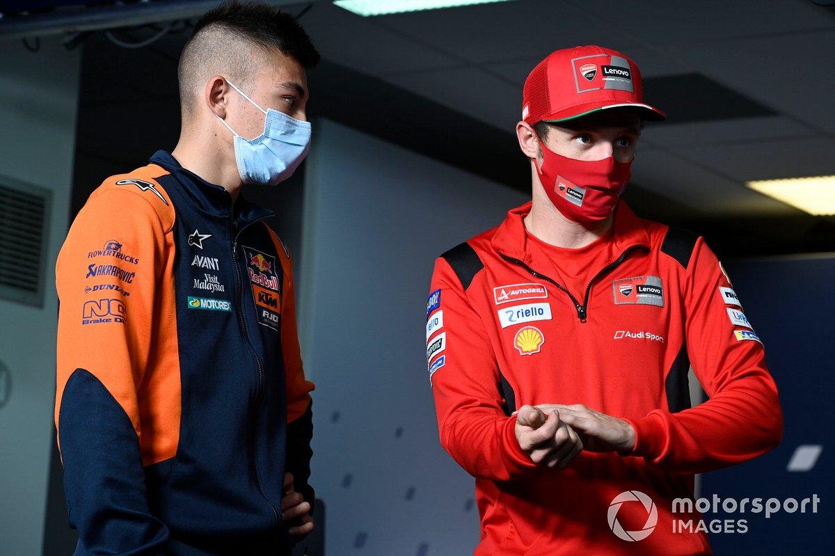 Raul Fernandez, Red Bull KTM Ajo, Jack Miller