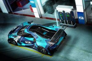 FIA Electric GT Championship aracı