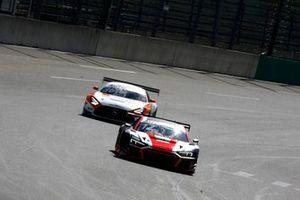 Dev Gore, Team Rosberg Audi R8 LMS GT3, Arjun Maini, GetSpeed Performance Mercedes AMG GT3