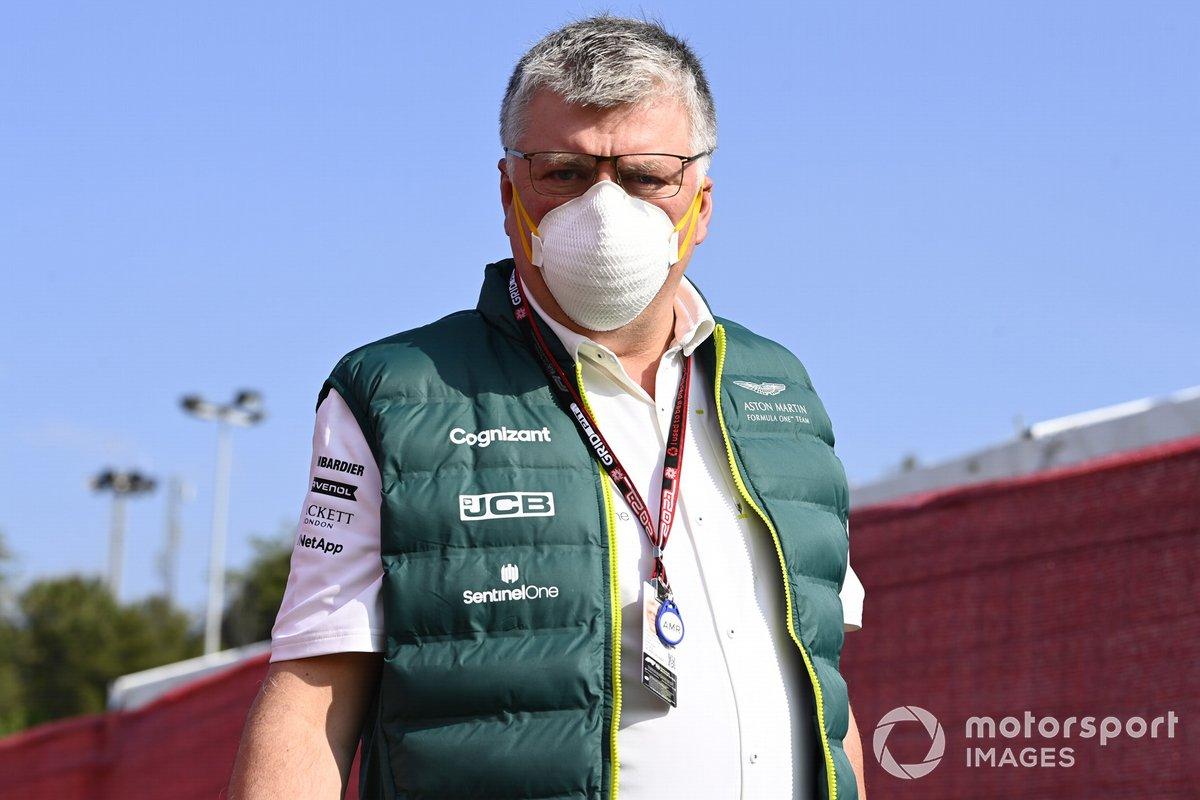 Otmar Szafnauer, Team Principal y CEO, Aston Martin F1